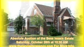 Lancaster Agency October 26th Auction Ad