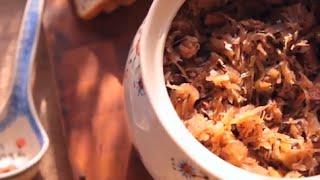 Bigos (ragoût polonais à la choucroute)