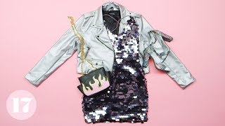 5 Ways to Wear a Sequin Dress | Style Lab by Seventeen Magazine