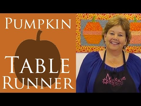 or - Hexagon Pumpkin or Ornament Table Runner: Easy Quilting Tutorial by Missouri Star Quilt Co.'s Jenny Doan. Jenny teaches us how to make an easy Halloween or Christmas holiday table runner using ...