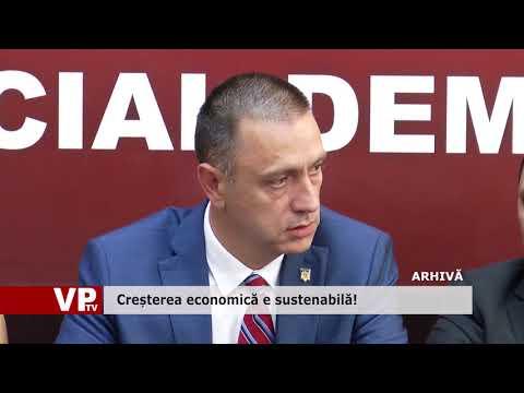 Creșterea economică e sustenabilă!