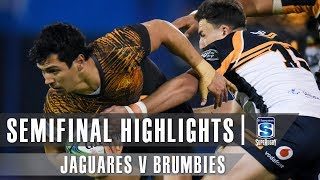 Jaguares v Brumbies 2019 Semi-final Super rugby video highlights | Super Rugby Video Highlights