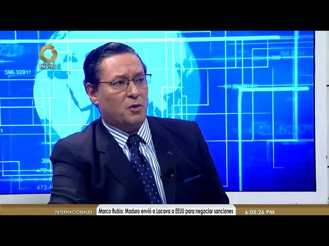 Jesús Aveledo - Hoy el mundo está globalizado (Parte 1 de 2)