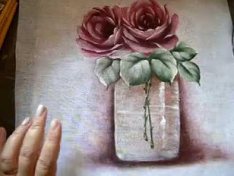 Pintura em tecido Eliane Nascimento: Transparência