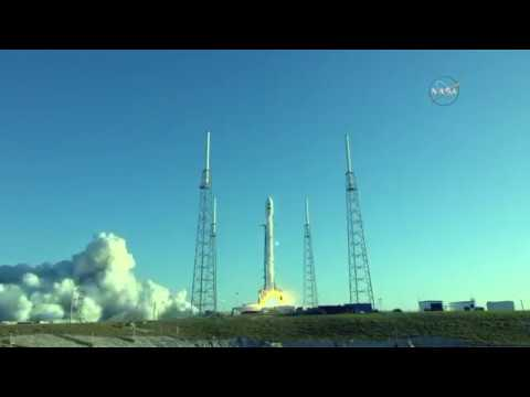 SpaceX rocket launches from Florida carrying NASA planet-hunting telescope