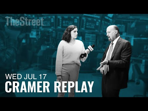 Jim Cramer Breaks Down Big Tech's Excursion To Capitol Hill, And CSX Earnings