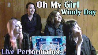 "Video Oh My Girl - ""Windy Day"" LIVE Performance Reaction MP3, 3GP, MP4, WEBM, AVI, FLV Juli 2018"