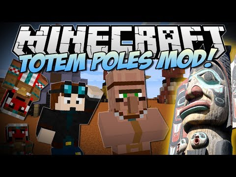 Minecraft | MAGICAL TOTEM POLES! (Ancient Alternatives to Beacons!)| Mod Showcase