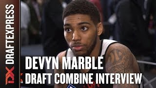 Devyn Marble Draft Combine Interview