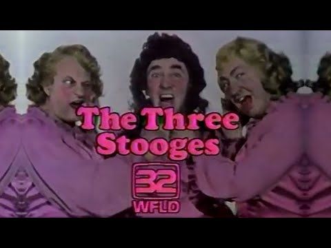 WFLD Channel 32 - The Benny Hill Show & The Three Stooges (Complete Broadcast, 3/13/1981) 📺