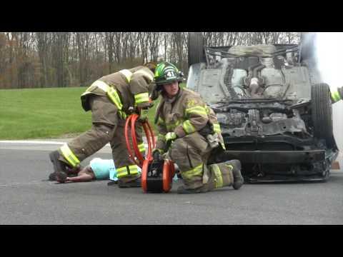 2017 Pocono Mountain West High School Mock Crash (видео)