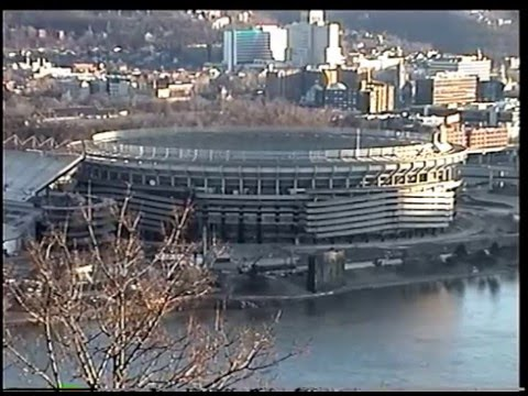 FIFTEEN YEARS AGO TODAY:  Three Rivers Stadium Implosion, 2/11/01 at 8am