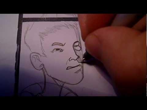 Comics zeichnen INKING Copic Multiliner SP – Comiczeichner