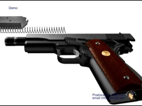 Colt 1911 Reassembly 3D