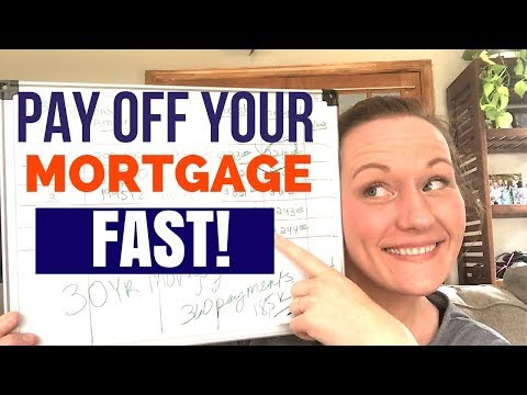 How to Pay Off Your Mortgage Early in 5-7 years! Using an Amortization Schedule!