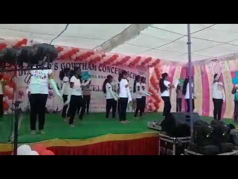 Dr.K.K.R.gowtham School Annual Dance Tik Tik Song