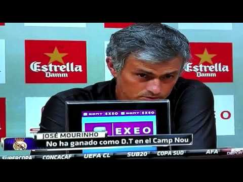Mourinho no conoce a Tito Vilanova (видео)