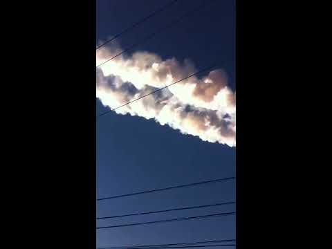 2. Meteorit landar i Ryssland