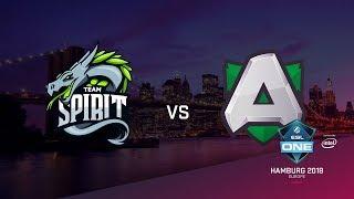 Team Spirit vs Alliance, ESL Closed Quals EU, bo3, game 3 [Maelstorm & LighTofHeaveN]