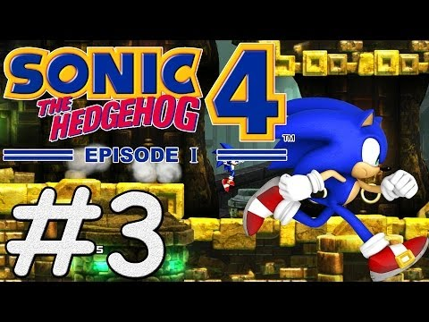Sonic The Hedgehog 4 Episode 1 (PC) - #3 - Lost Labyrinth Zone