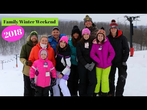 Family Winter Weekend 2018 at Shanty Creek Resorts