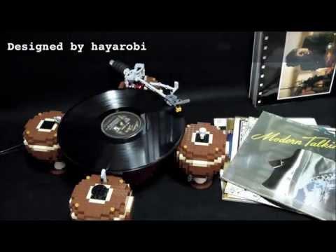 VIDEO: Poslechněte si první gramofon postavený z LEGA