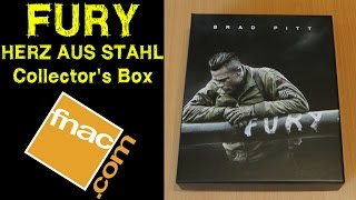 Nonton FURY -  Herz aus Stahl FNAC exklsuive Blu-Ray Steelbook Collectors Box Unboxing Brad Pitt Film Subtitle Indonesia Streaming Movie Download