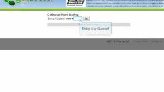 This demo shows the steps you'll need to take to enter in score data for a game. You will need the Event ID#, Event Pin#, and ...
