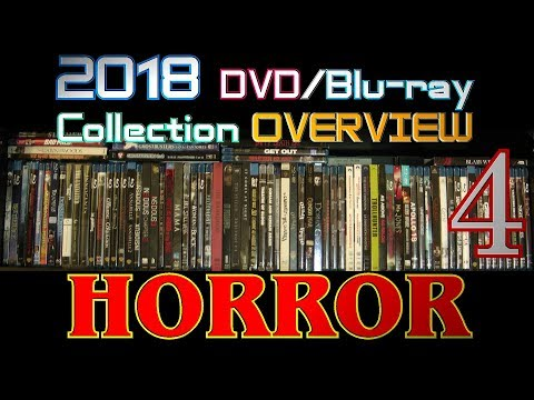 2018 DVD/Blu-ray Collection Overview 13 - Horror 4 -  Comedy, Classy, Found Footage, Anthology