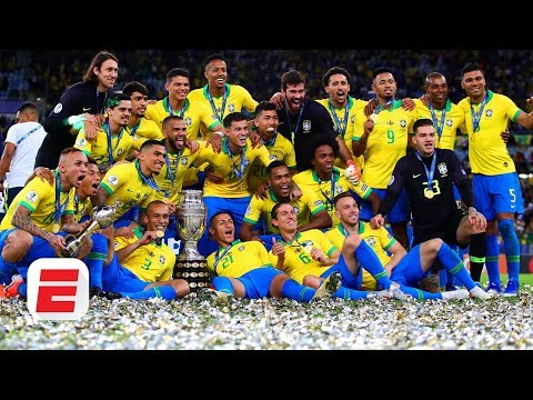 Where Do Brazil Rank Among The Best In World Football After Copa America Win? | ESPN FC
