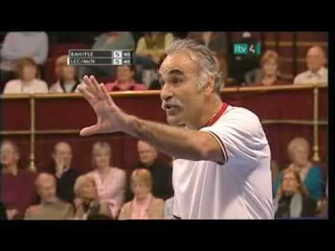Bahrami/Fleming vs Leconte/McNamara Funny Moments