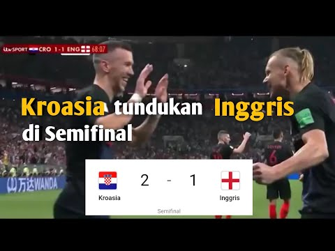 Kroasia vs Inggris 2-1 full Highlights world cup 2018