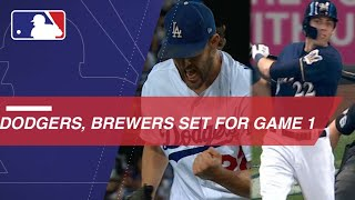 Dodgers, Brewers set for Game 1 of the NLCS