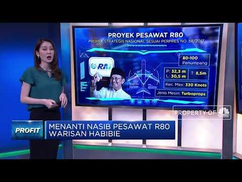 Menanti Nasib Pesawat R80 Warisan Habibie