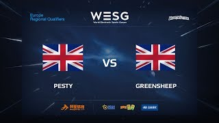 Pesty vs greensheep, game 1
