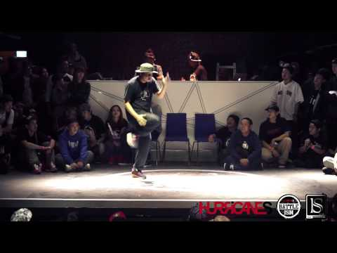 HURRICANES BATTLE-ISM 2013 TAIWAN | LION (Taiwan) [POPPIN JUDGE SOLO]