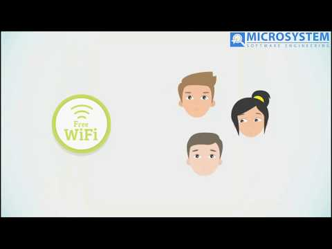 Microsystem Hotspot for Automated internet management and WiFi marketing
