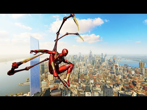 Spider-Man PS4 - Classic Iron Spider Armor Combat