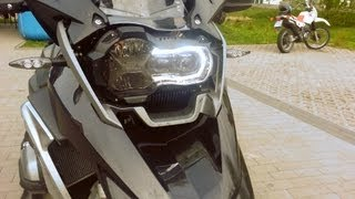 6. New BMW F700 GS vs R1200 GS 2013 Acceleration and Exhaust Sound