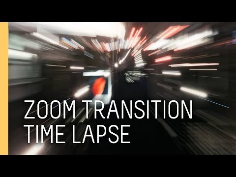 Tutorial: How to create a zoom timelapse transition in after effects