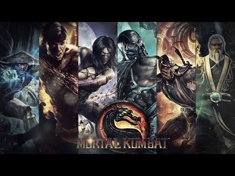 Mortal kombat Main Theme [TR HardTrance Remix][MK9 Mashup Video Mix]