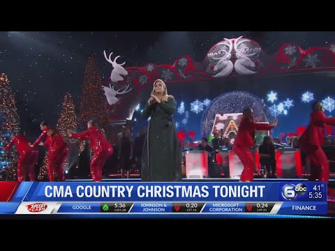 CMA Country Christmas tonight