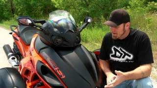 10. Motorcycle Review: Can-Am Spyder RSS