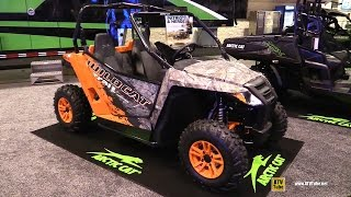 8. 2016 Arctic Cat Wildcat Trail Limited Side by Side ATV - Walkaround - 2015 AIMEXPO Orlando