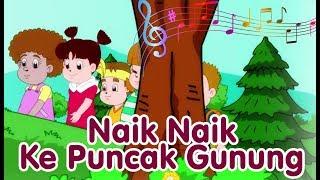 NAIK NAIK KE PUNCAK GUNUNG | Diva Bernyanyi | Lagu Anak Channel