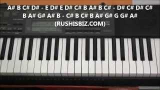 Video Gulabi Aankhein Jo Teri Piano Notes - Video Tutorials download in MP3, 3GP, MP4, WEBM, AVI, FLV January 2017