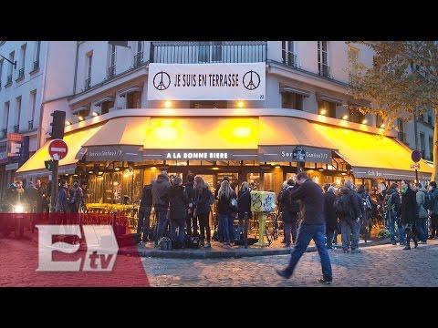 Reabre unos de los establecimientos atacados en París, Francia