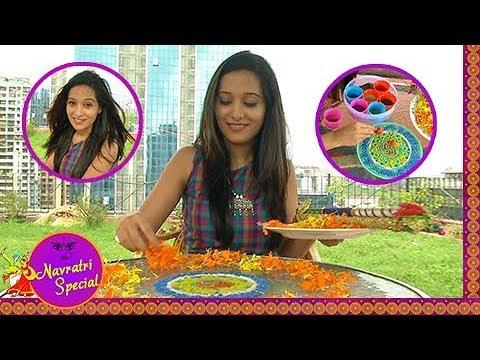 Preetika Rao aka Mohini Draws Colorful Rangoli | N