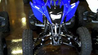 7. Yamaha Raptor 125 Quad - Blue & White Raptor 125 Pair Walkaround