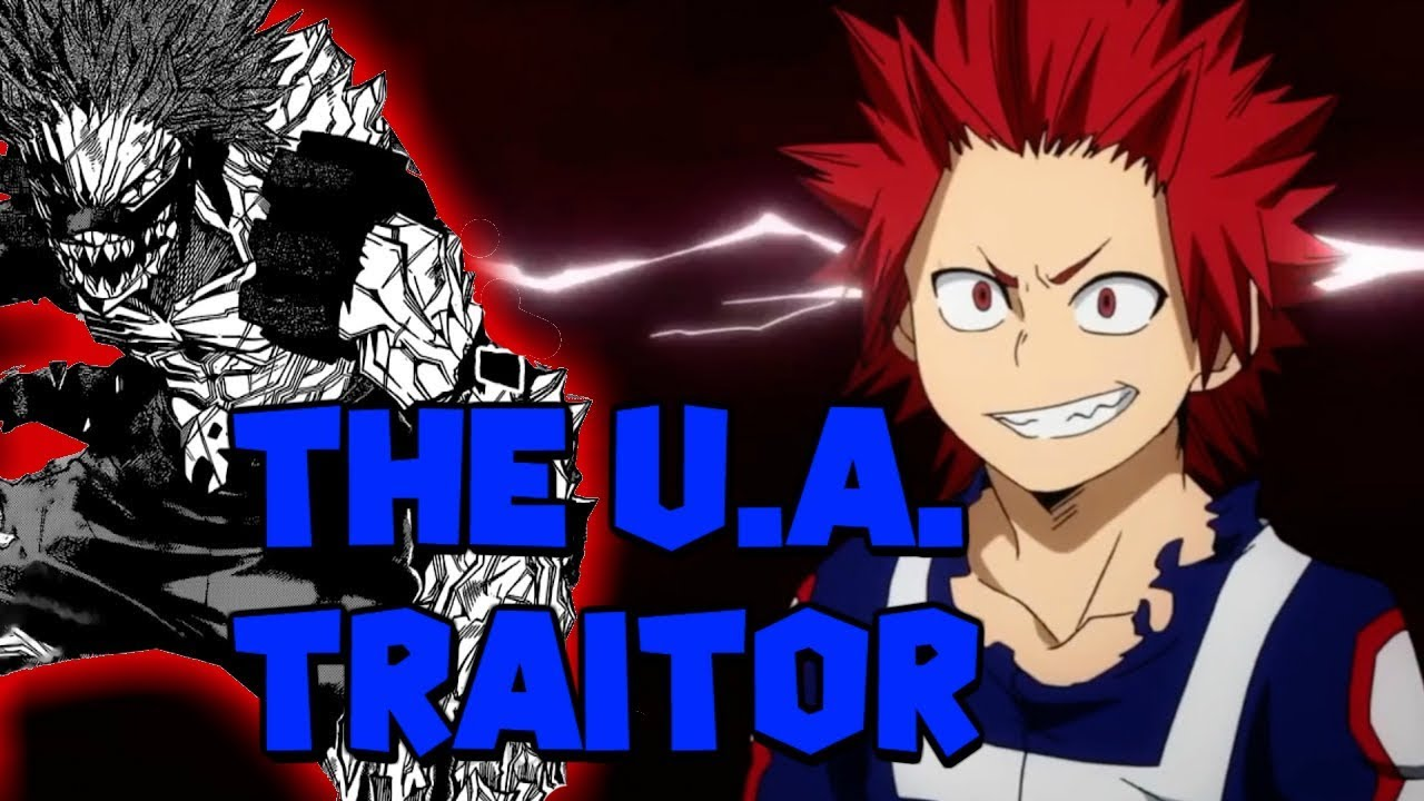 Kirishima is the TRAITOR! My Hero Academia Theory